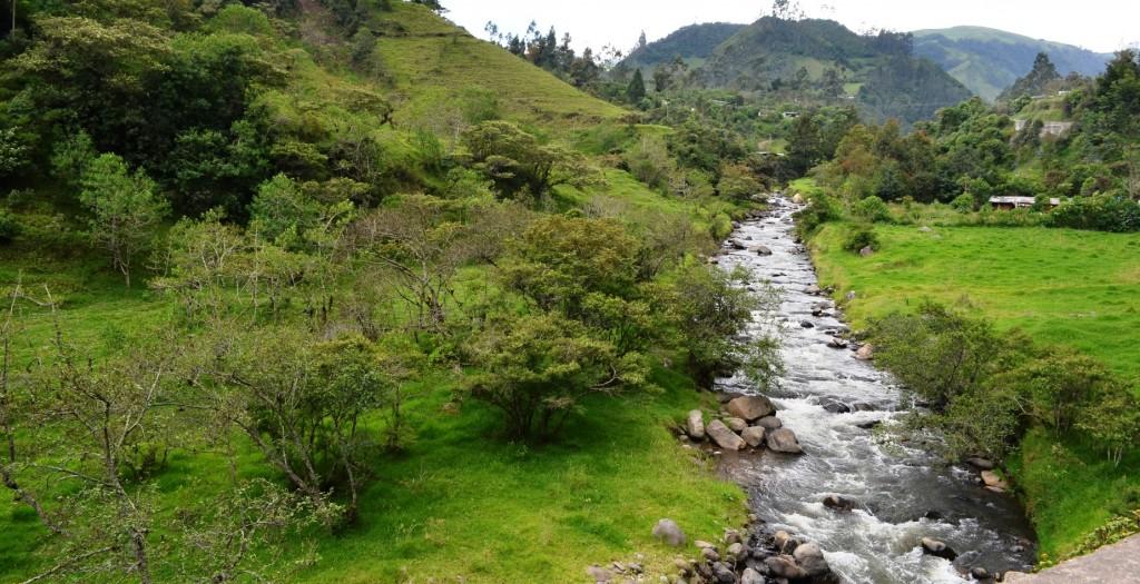 Paisaje natural de Coconuco, Cauca