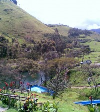 Termales de Aguatibia, en Coconuco, Cauca.