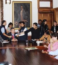 En rueda de prensa el pasado viernes 25 de octubre, el rector de Unicauca y el Consejo Académico informaron sobre la suspensión indefinida de actividades académicas en pregrado.