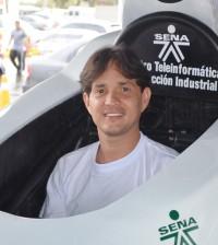 Hernando José Paz, coordinador del proyecto.