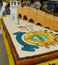 Torta con motivo del cumpleaños de Popayán
