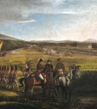 Batalla de Calibío 2 pintura de  José María Espinosa