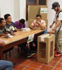 En el Cauca están habilitados para votar 876.086 ciudadanos, de los cuales 210.431 corresponden a Popayán. Sede de la Delegación del Departamento del Cauca de la Registraduría Nacional del Estado Civil.