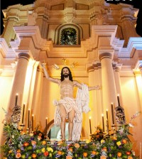 Afiche Semana santa Popayán 2014. Junta Permanente Pro Semana Santa Popayán