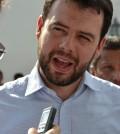 Carlos Fernando Galán presidente del partido Cambio Radical es entrevistado por el periódico La Campana.