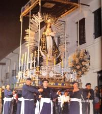 Virgen de Los Dolores Imagen española Siglo XVIII Síndico: Mario Córdoba Castillo
