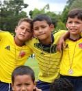 A través del juego, los niños de Popayán y de otras poblaciones del Cauca, estrecharon lazos de amistad.
