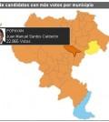 Votación presidencial en el Cauca.
