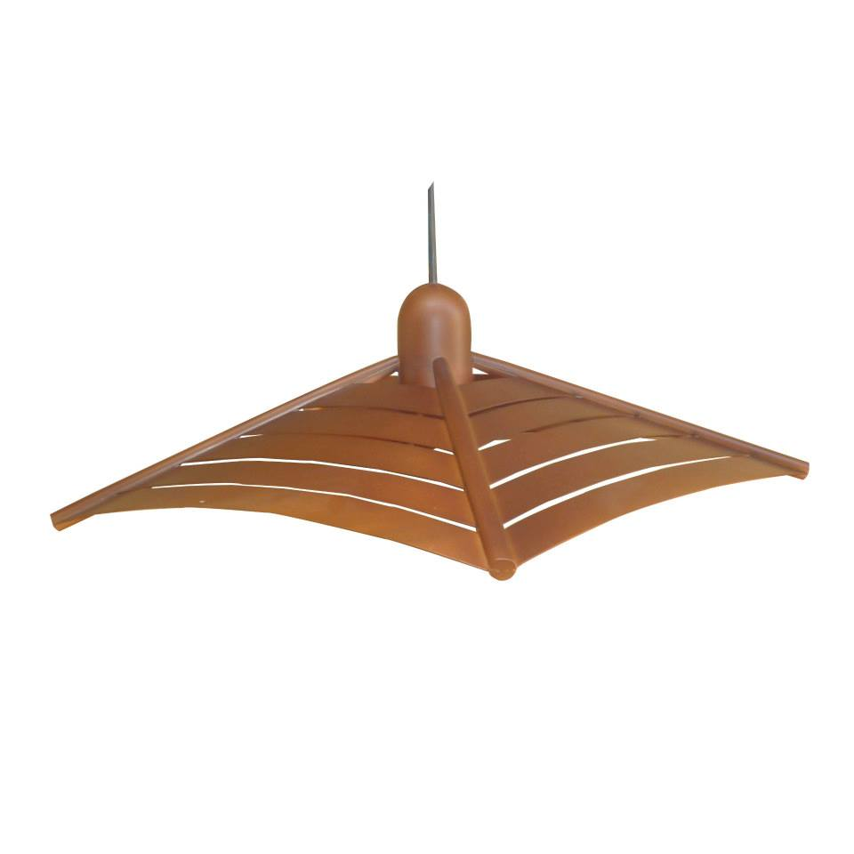 Maderitos y ammo dise o en feria de las colonias - Lamparas de madera para techo ...
