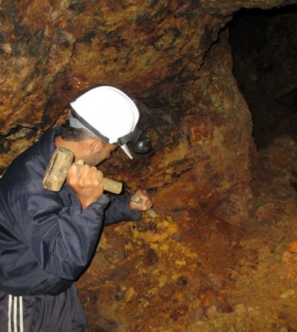 Mina de oro, Almaguer, Cauca. Al consorcio conformado por el Grupo Bureau Veritas, Tecnicontrol y BVQI, le fue adjudicada en junio de 2012 la fiscalización de títulos mineros en Colombia- Grupo 2, el primero en ejecutarse en el país en esta materia.