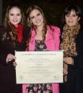Nueva Nutricionista Dietista Isabel Cristina Olano Paredes, Virginia Olano Paredes (la graduanda) y Olga María Paredes Caicedo.