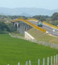 Viaducto El Juncal sobre el Río Magdalena