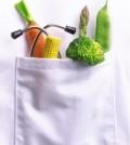 Bolsillo con verduras