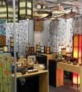 Stand en Expoartesanías de las empresas de artesanía contemporánea, Maderitos y AMMO Diseño.