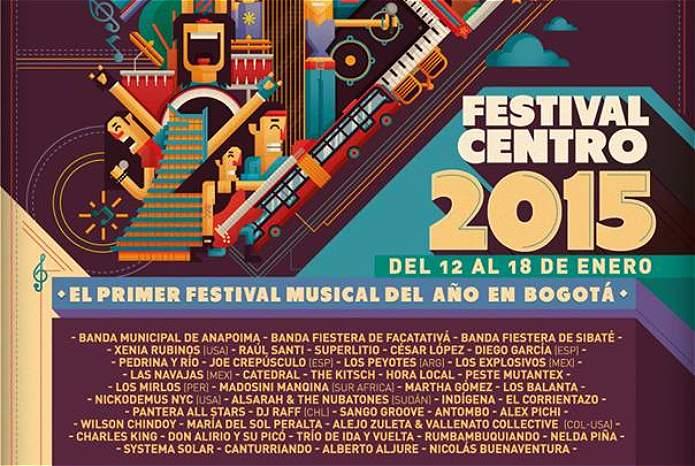 Festival Centro-Foto: bogota.vive.in Fecha: del 12 al 18 de enero Lugar: la Fundación Gilberto Alzate Avendaño