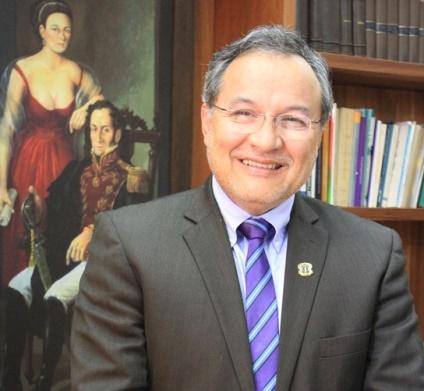 Juan Diego Castrillón Orrego, rector Universidad del Cauca.