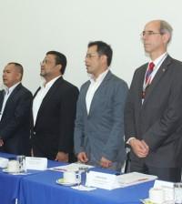 El acuerdo de cooperación lo firmaron el embajador de Suiza en Colombia, Kurt Kunz; el director de Cooperación, Cosude Colombia, Martin Jaddi; los alcaldes de los municipios beneficiados y los delegados de los gobiernos Departamental y Nacional.