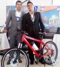 Edwin Javier Lugo Ramírez y Andrés Felipe Ramírez Caicedo, emprendedores y creadores de POP-BIKE.