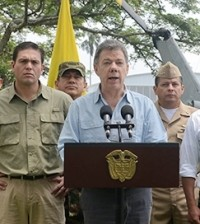 Presidente Santos ordenó reanudar bombardeos contra campamentos de las FARC.