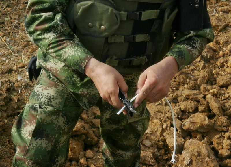 En lo corrido del 2015 se registran un muerto y siete heridos en el Cauca. En Nariño hay más presencia de minas.