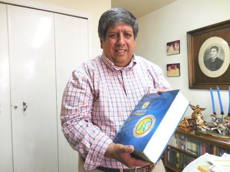 """Ingeniero Oscar Calvache Rojas, líder del equipo interdisciplinario que efectuó el estudio """"Estructura Ecológica Principal del Municipio de Popayán', que servirá de soporte para la construcción del nuevo POT"""