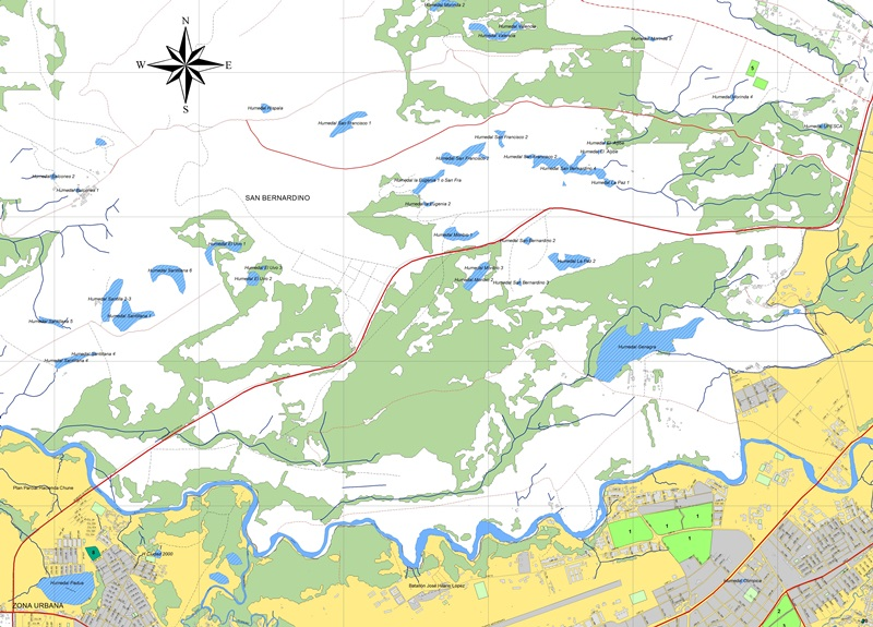 El estudio resalta la importancia de proteger los humedales y los bosques de Popayán.