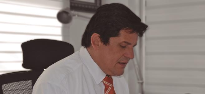 Víctor Libardo Ramirez Fajardo, gerente de la Industria Licorera del Cauca.