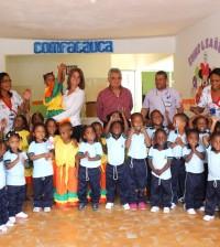 Visita a los Nidos de Paz en Puerto Tejada