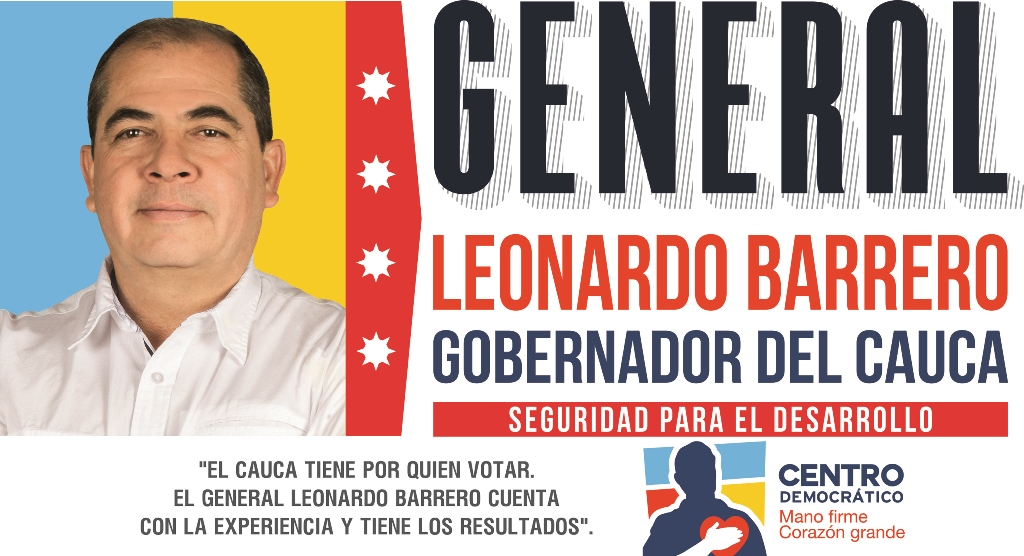 Publicidad política pagada Leonardo Barrero