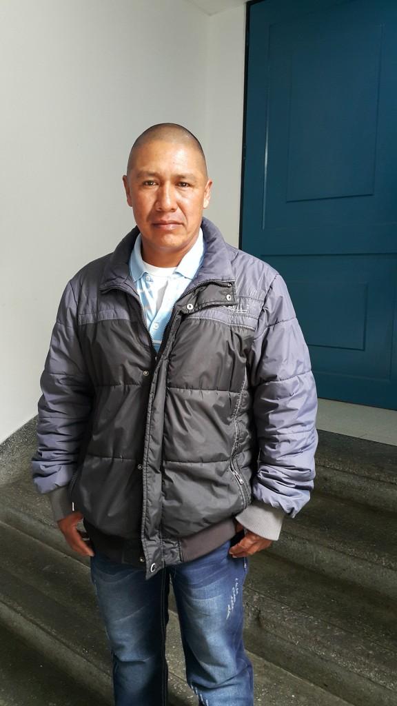 Jaime Chagüendo, desmovilizado de las autodefensas de Ortega, Cajibío, Cauca y hoy representante de la cooperativa Con Futuro, que agrupa a los productores de Mora Life, entre los que están desplazados y desmovilizados, resaltó el apoyo del general Barrero.