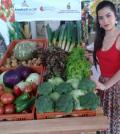 Muestra de frutas y hortalizas