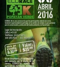 Afiche Carrera Eco Race 3K