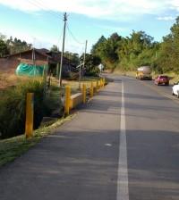 Afectación de barrera de seguridad