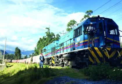 tren Belencito- Bogota