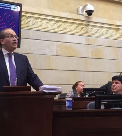 Carrillo en el Congreso