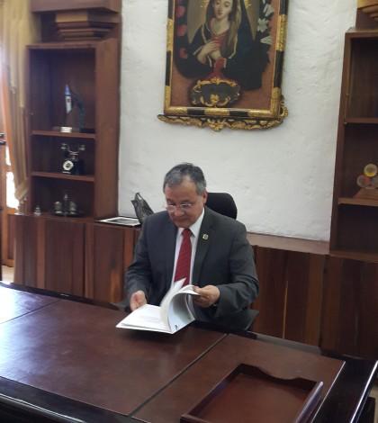 Despacho rector Castrillón