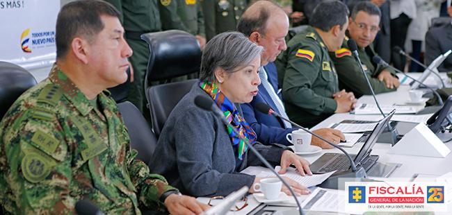 La Fiscalía dio a conocer los resultados de la 'Operación Demoledor', mediante la cual se allanaron 10 cárceles en el país.