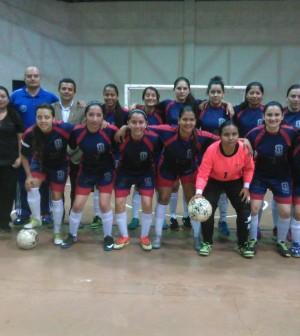 Equipo femenino de fútbol sala Unicauca