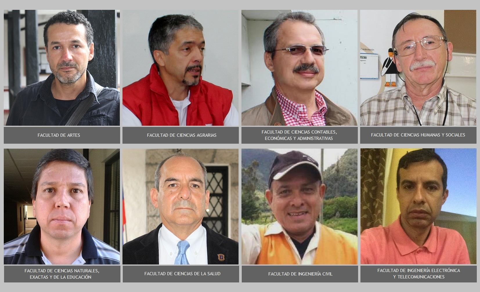 Decanos Universidad del Cauca 2017-2022