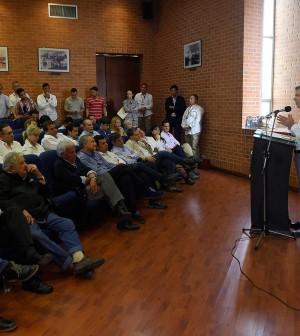 Hoy se logró lo que hace algunos años se creía imposible, afirmó el Presidente al referirse a la dejación de armas de las FARC.