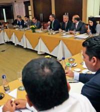 Reunión ministro y secretarios de agricultura 22 de junio