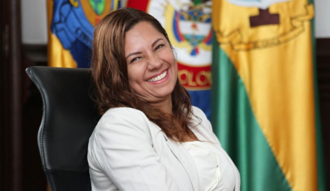 Claudia Ximena García Navia, ex secretaria de Hacienda de Popayán.