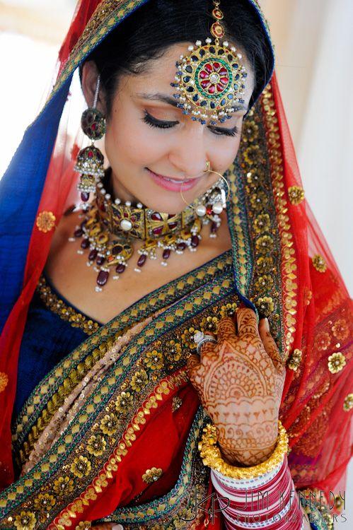 Vestido tradicional de India.