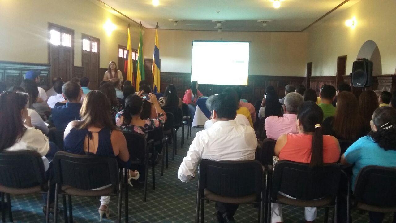 La conferencia sobre las reformas al programa Mi Casa Ya, contó con importante asistencia.