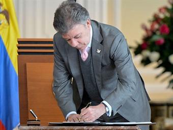 El presidente Juan Manuel Santos, lamentó que el designado director del Icbf no aceptara el cargo.