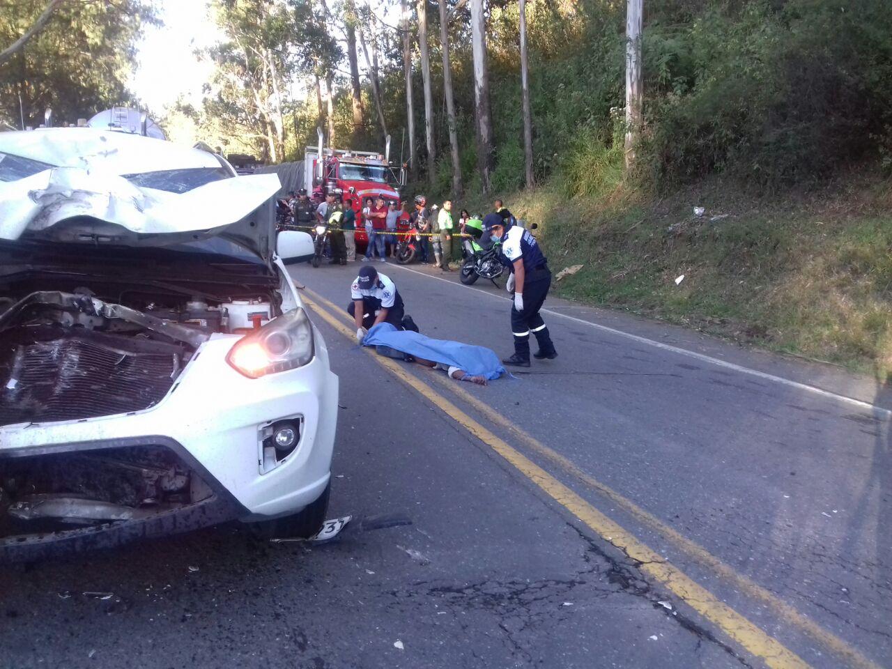 Una de las principales causas de muertes en Popayán las ocasionan accidentes de tránsito.