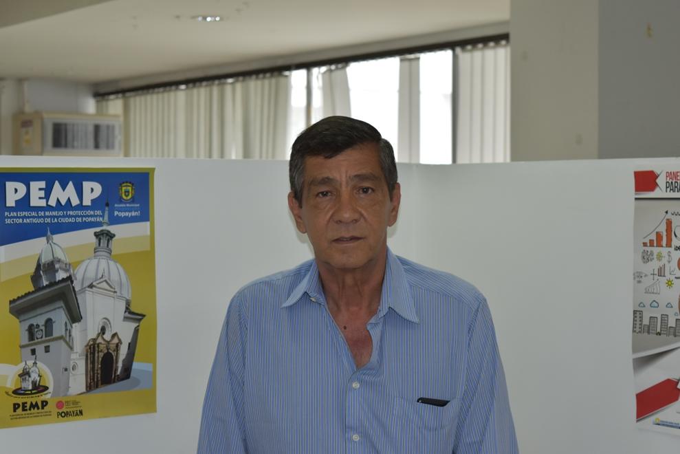 José Rodrigo Sánchez, director ejecutivo del Consejo Gremial y Empresarial del Cauca.