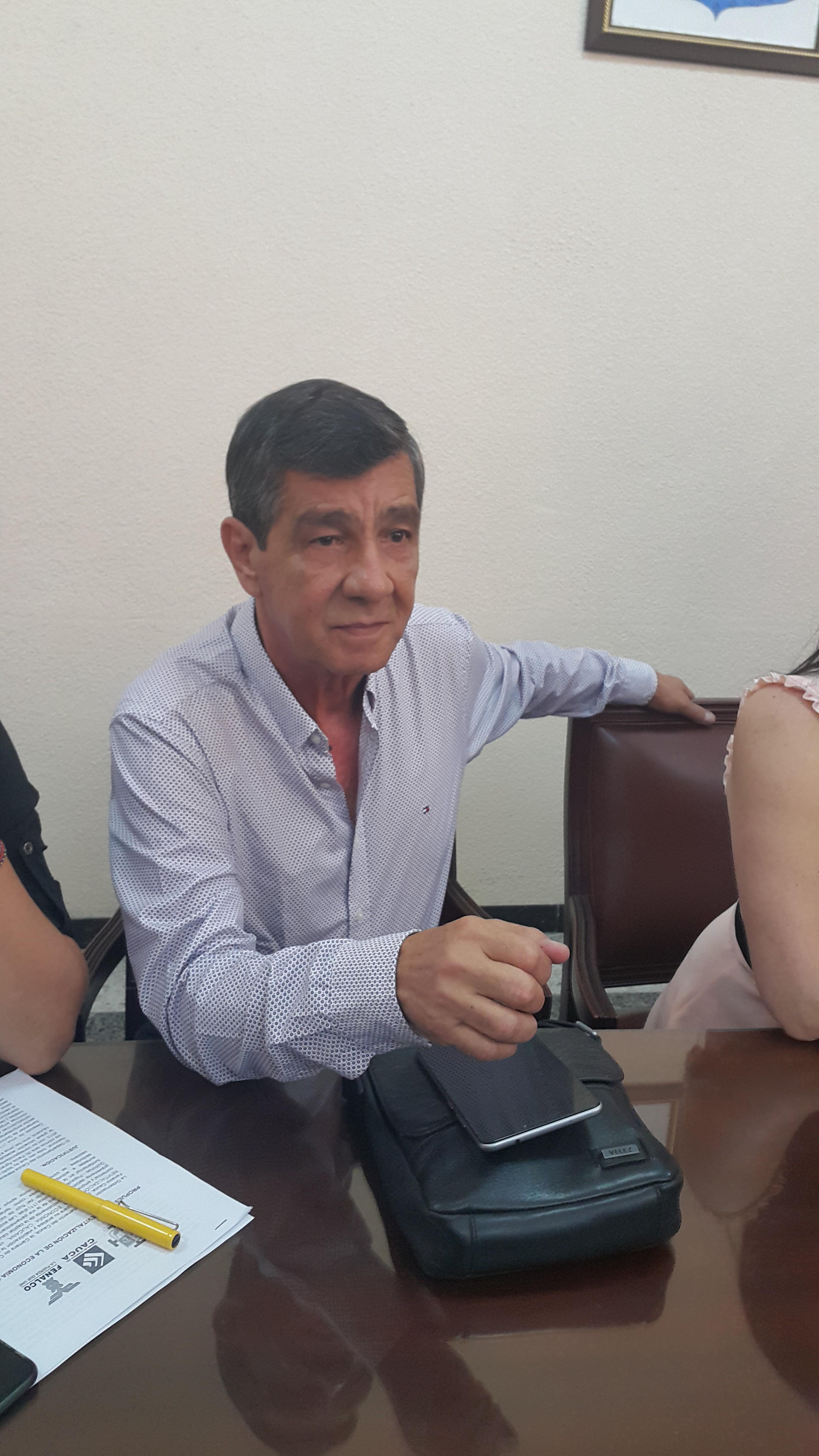 José Rodrigo Sánchez Astudillo, director ejecutivo del Consejo Gremial y Empresarial del Cauca.