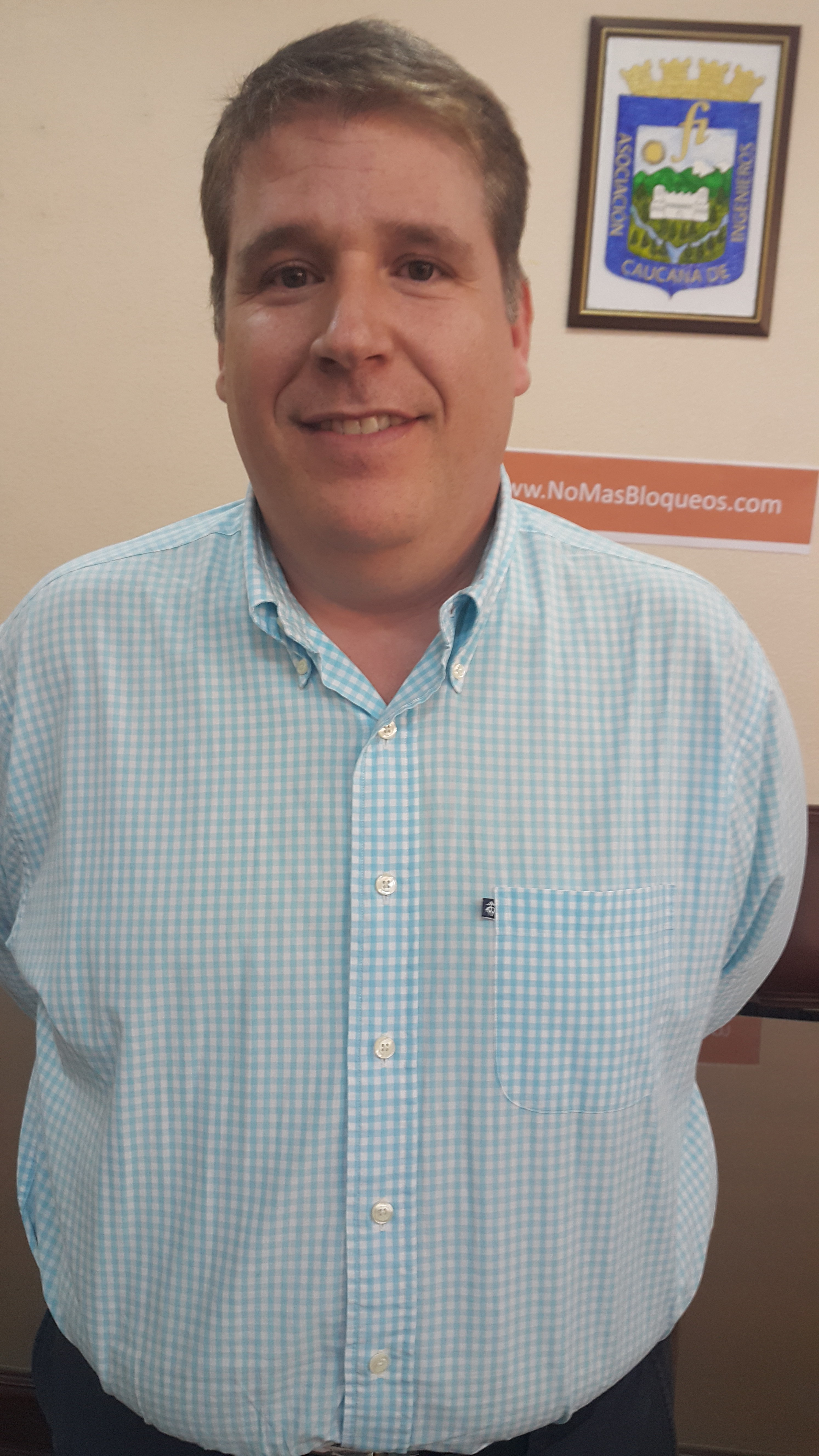 uan Esteban Ángel, director ejecutivo del Comité Intergremial  y Empresarial del Valle del Cauca.