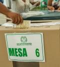 Mesas votación